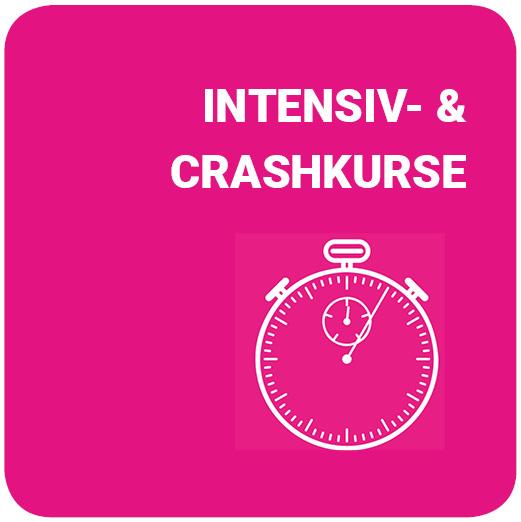 Übersicht Intensiv- und Crashkurse